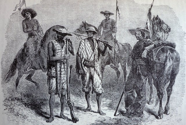 tipos de soldados en el Cauca